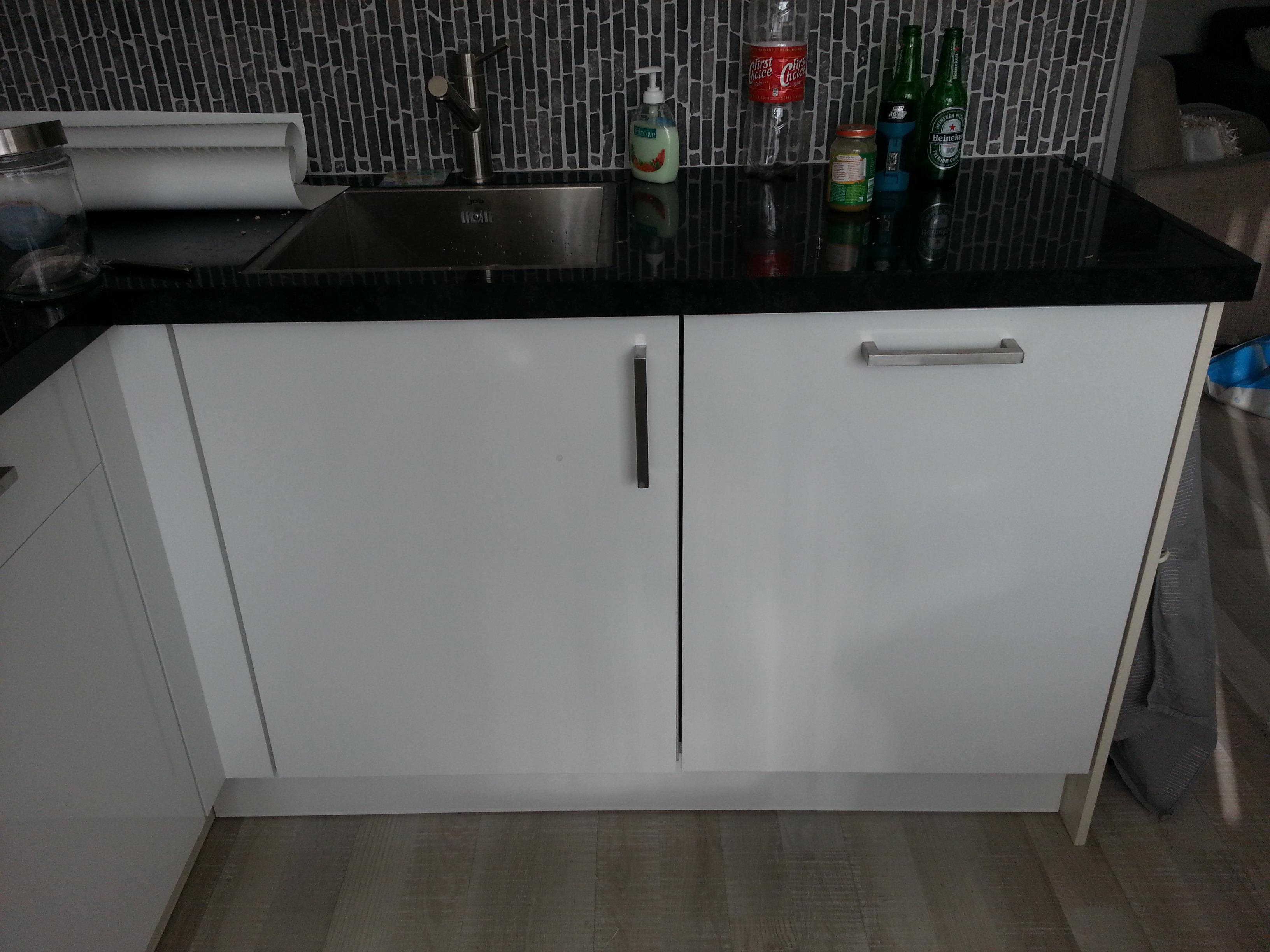 Keuken – Magnolia geel naar hoogglans wit